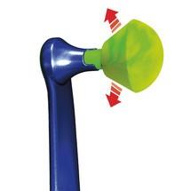 Ersatzstöpsel für Bügelgehörschützer MOLDEX® WaveBand®, SNR-Wert dB 27