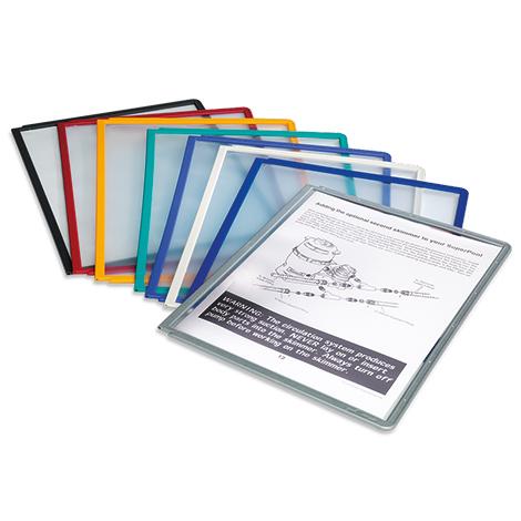 Ersatztafeln von VARIO ® und SHERPA ®. Verschiedene Farben