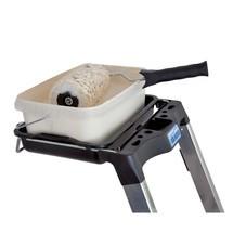 Escabeau à marches KRAUSE® Compact en aluminium, accessible d'un seul côté