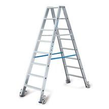 Escabeau à marches KRAUSE® Profi en aluminium, accessible des deux côtés