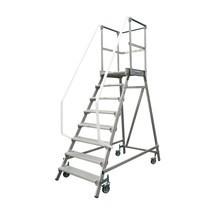 Escada de plataforma KRAUSE®, deslocável