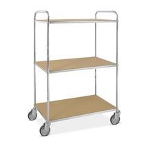 ESD podlahový vozík, konstrukční výška závěsů 1,445 mm