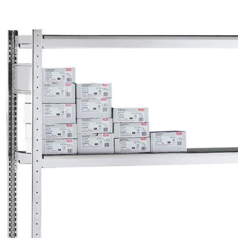 estante intermedio para estantería de cargas pequeñas SCHULTE con cestas de malla cerrada