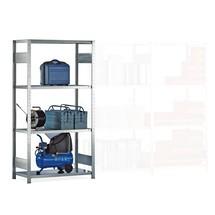 Estantería de cargas pequeñas META, módulo inicial, carga por estante 150 kg