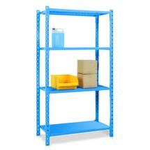 Estantería de cargas pequeñas, módulo inicial, con paneles de acero, carga por estante de hasta 500 kg
