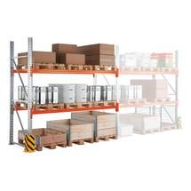 Estanteria de paletização META MULTIPAL, módulo de montagem, carga de 13290 kg por módulo