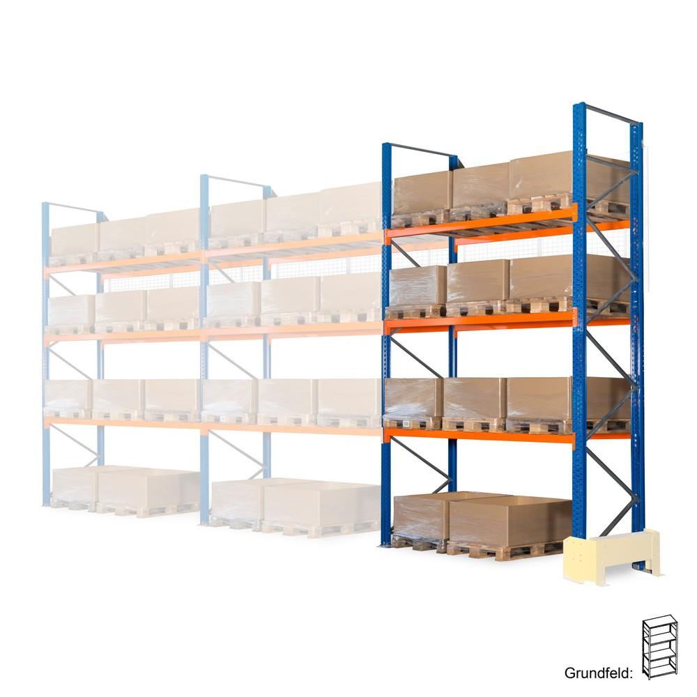 Estanteria híbrida 3 em 1, estanteria de paletes, módulo básico