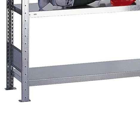 Estantería para estantería SCHULTE sistema de encajado|sistema de ensamblajes, carga de estante inferior 150 kg