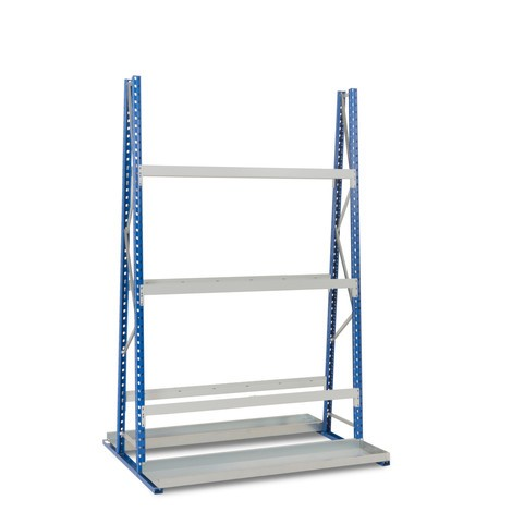 Estantería vertical, bilateral, módulo inicial