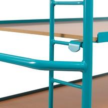 Etagenwagen Ameise®, 3 variable Holzböden