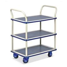 Etagewagen PRESTAR ® met 2 bodems van plaatstaal