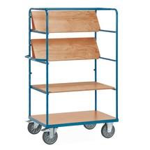 Etážový vozík fetra® se skládacími policemi