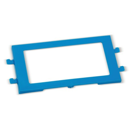 Etikettenhalter für faltbaren Mehrwegbehälter Premium