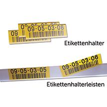 Etikettenhalter, magnetisch