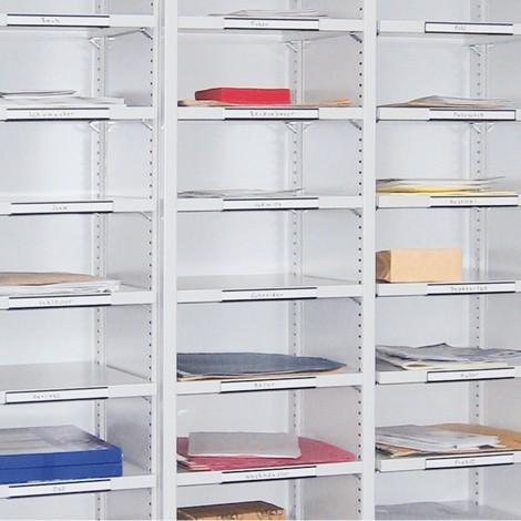 Etikettenlijst voor sorteerkasten PAVOY
