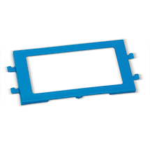 Etikettenrahmen für alle Euronorm-Faltbox Premium