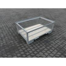Euro-Gitterbox, 4 feste Wände