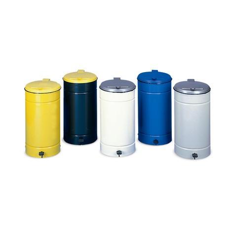 Euro-Pedal waste bin, 60 litres