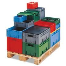 Euro-Stapelbehälter für schwere Lasten