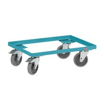 Eurobakken-dolly Ameise®, staal, 250 kg, 614 x 414 mm