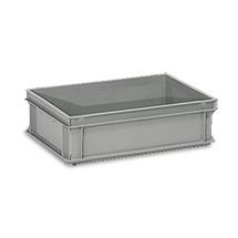 Eurokasten fetra® aus Polyethylen. Inhalt 30 Liter