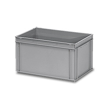 Eurokasten fetra® aus Polyethylen. Inhalt 60 Liter