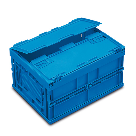 euronorm faltbox premium mit deckel inhalt 21 liter. Black Bedroom Furniture Sets. Home Design Ideas
