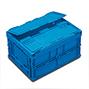 Euronorm-Faltbox Premium mit Deckel. Inhalt 21 Liter