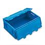 Euronorm-Faltbox Premium mit Deckel. Inhalt 44 Liter