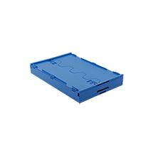 Euronorm-Faltbox Premium mit Deckel. Inhalt 60 Liter