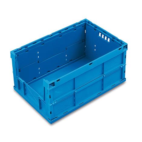 Euronorm-Faltbox Premium mit Eingriff. Inhalt 59 Liter