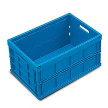 Euronorm-Faltbox Premium ohne Deckel. Inhalt 40 Liter