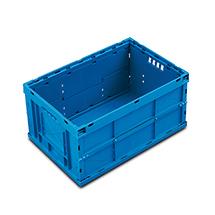 Euronorm-Faltbox Premium ohne Deckel. Inhalt 59 Liter
