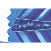 Euronorm-Faltbox Premium ohne Deckel. Inhalt 66 Liter