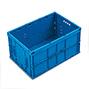 Euronorm-Faltbox Premium ohne Deckel. Inhalt 68 Liter