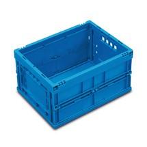 Euronorm-vouwbox Premium zonder deksel. Inhoud 22 liter