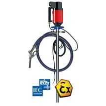 Ex-Schutz-Pumpen-Set für brennbare Medien, mit Restentleerungsfunktion