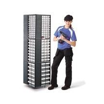Expositor giratório para armário de arrumação para peças pequenas Premium