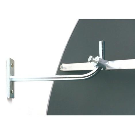 Extended wall bracket for Detektiv observation mirror