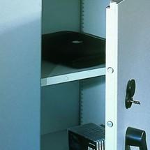 Extra legbord voor brandkasten met openslaande deuren