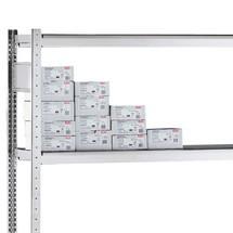 Extra legbord voor grootvakstelling met draadstaalkorven
