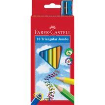 FABER-CASTELL Buntstifte Triangular Jumbo