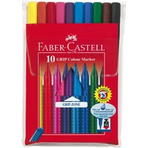 FABER-CASTELL Fasermaler GRIP Colour Marker