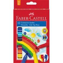 FABER-CASTELL Filzstifte Jumbo CONNECTOR Pen