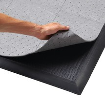 Fabric for anti-fatigue mat