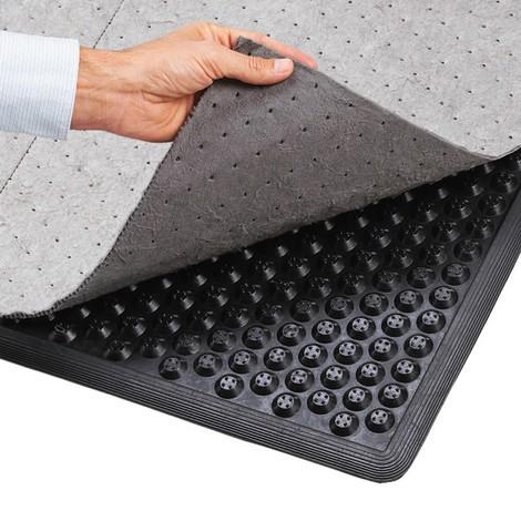 Fabric for anti-fatigue mat