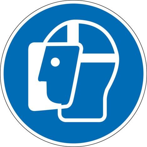 Face Shield gebruiken