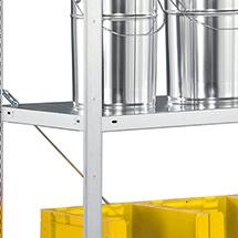 Fachboden für Fachbodenregal META Stecksystem. Fachlast 100kg, Breite 1m