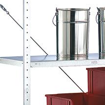 Fachboden für Fachbodenregal META Stecksystem. Fachlast 80kg, Breite 1m