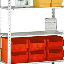 Fachboden für Fachbodenregal Stecksystem. Breite 1000mm